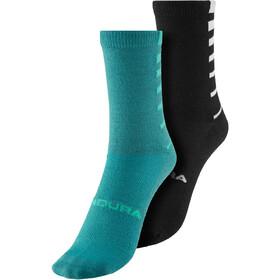 Endura Coolmax Stripe Socken 2er Pack Herren blau